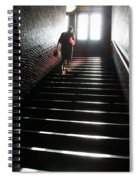 In A Stairwell Spiral Notebook