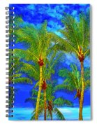 In A World Of Palms Spiral Notebook