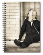 In Bliss Of Ignorance Spiral Notebook