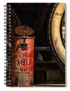 In Case Of Fire Spiral Notebook