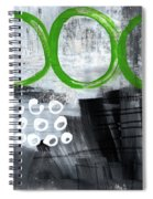 In Circles- Abstract Painting Spiral Notebook