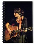 In Concert With Folk Singer Pieta Brown Spiral Notebook