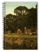 In Country Churchyard Wittington Worcester Spiral Notebook