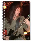 In Flames Spiral Notebook