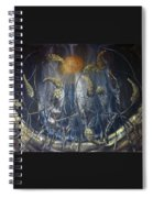 In Flight Spiral Notebook