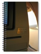In Flight Choices Spiral Notebook
