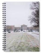 In Front Of The Philadelphia Art Museum Spiral Notebook