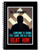 In Germany Someone Is Doing The Same Job As You Spiral Notebook