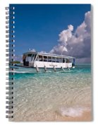 In Harmony With Nature. Maldives Spiral Notebook