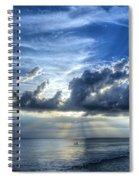 In Heaven's Light - Beach Ocean Art By Sharon Cummings Spiral Notebook