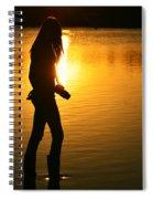 In Her Element Spiral Notebook