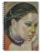 In Her Thoughts Spiral Notebook