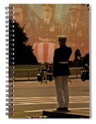 In Honor Of Our Fallen Heroes Spiral Notebook