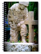 In Honor Of The Wounded Warrior Spiral Notebook