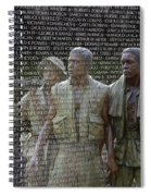 In Life And Death Spiral Notebook
