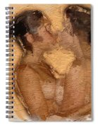 In Love With A Girl Spiral Notebook