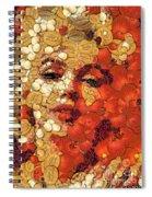 In Memory M M Spiral Notebook