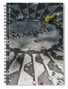 In Memory Of John Lennon - Imagine Spiral Notebook