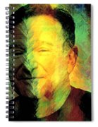 In Memory Of Robin Williams Spiral Notebook