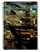 In Perspective - Fire Escapes - Old Buildings Of New York City Spiral Notebook