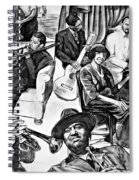 In Praise Of Jazz II Spiral Notebook