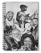 In Praise Of Jazz V Spiral Notebook