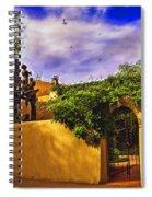 In Santa Fe - New Mexico Spiral Notebook