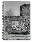 In Side The Boathouse Spiral Notebook
