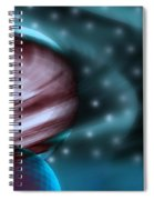 In Space Spiral Notebook