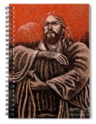 In The Arms Of Christ Spiral Notebook