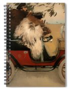 In The Automobile Spiral Notebook