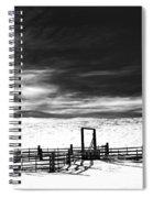 In The Bleak Midwinter Spiral Notebook