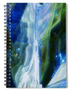 In The Blue Realm Spiral Notebook
