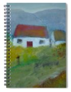In The Bluestack Mountains Spiral Notebook