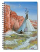 In The Canyon Spiral Notebook