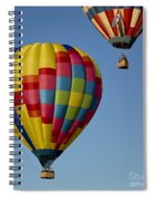 In The Clear Blue Skies Spiral Notebook