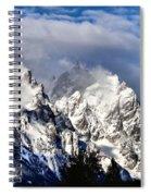 The Teton Range Spiral Notebook