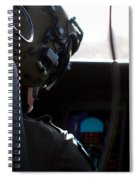 In The Cockpit Spiral Notebook