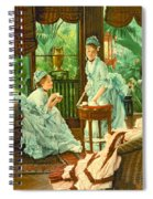 In The Conservatory  Spiral Notebook