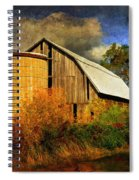 In The Gloaming Spiral Notebook