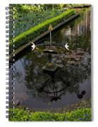 In The Heart Of Amsterdam Hidden Tranquility  Spiral Notebook