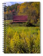 In The Heart Of Autumn Spiral Notebook
