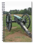 In The Line Of Fire - Manassas Battlefield Spiral Notebook