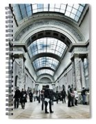 In The Louvre  Spiral Notebook