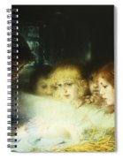 In The Manger Spiral Notebook