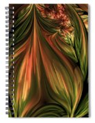 In The Midst Of Nature Abstract Spiral Notebook