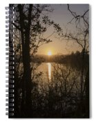 In The Morning At Lough Eske Spiral Notebook