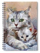 In The Mothers Embrace Spiral Notebook