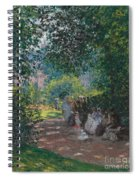 In The Park Monceau Spiral Notebook
