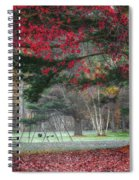 In The Park Square Spiral Notebook